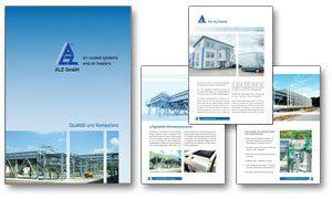 """ALZ GmbH Firmenbroschüre """"Qualität und Kompetenz"""""""